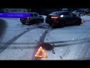 Первый городской канал в Кирове - МП Обзор аварий КИА и 9 ка в п Ганино Место происшествия 16 03 2018 2