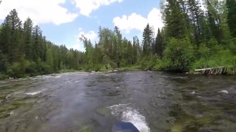 Экстремальный сплав на горной реке Шадат _ Каратузский райоn-juclip-scscscrp