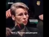 Лилия Шевцова: «Путин будет навсегда», эфир 2000 года 2ch webm