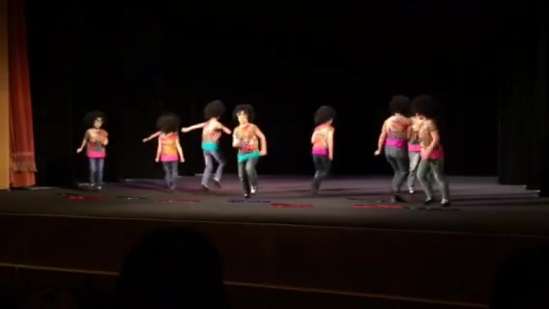 Диско Младшая группа № 5 Детская школа студия современной хореографии и творческого развития Рассвет
