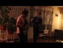 Дима, Кристина и Николай The House of the Rising Sun Квартирник в общаге РГГУ Декабрь 2017
