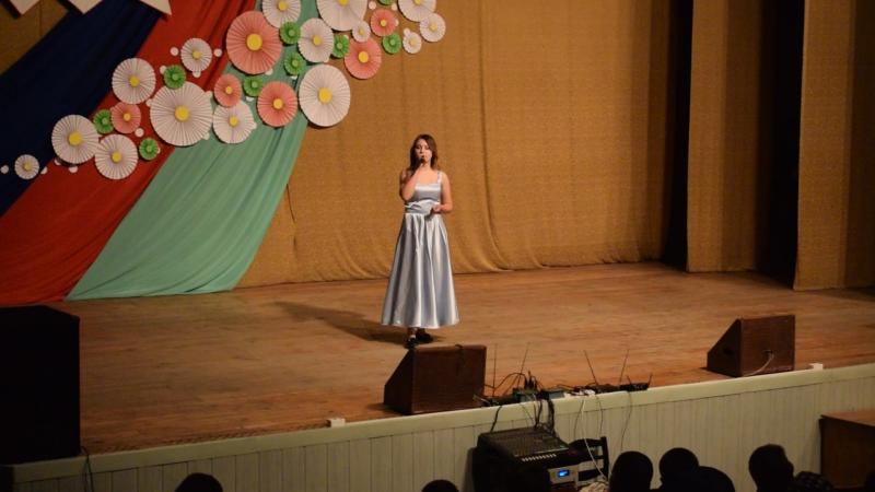 """Песня """"Я буду жить для тебя"""" исполняет Мария Косынюк"""