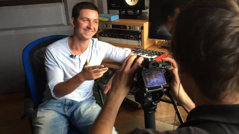 RUSSELL: Интервью для KFC Battle (смешные дубли)