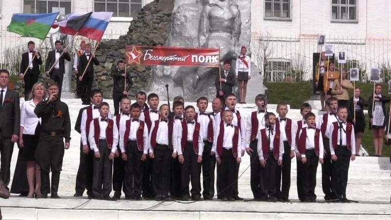 Иван Маслюк и хор мальчиков 09.05.2015