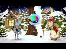Пример оформления новогодней сказки в яслях и детских садах.
