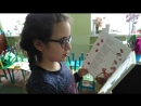 Соня читает стихотворение Юнны Мориц