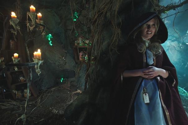 Alice rises up