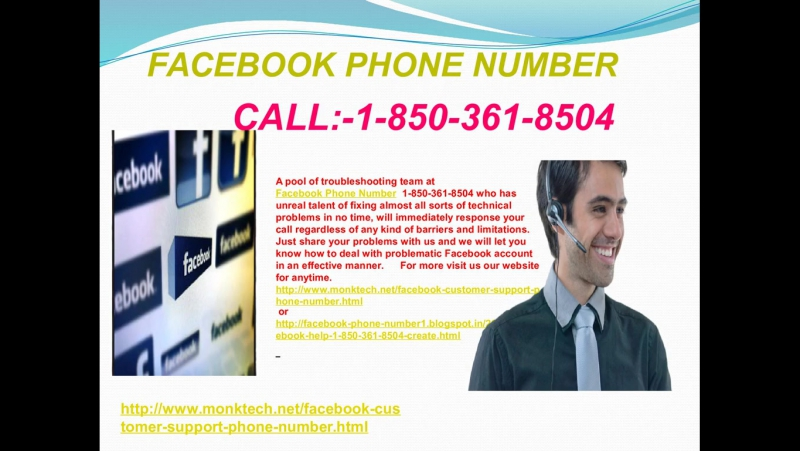 Prompt specialized guide at Facebook Phone Number 1-850-361-8504