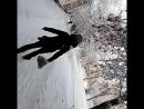 Кирюша, Дашенька и Энжик идут домой 😍