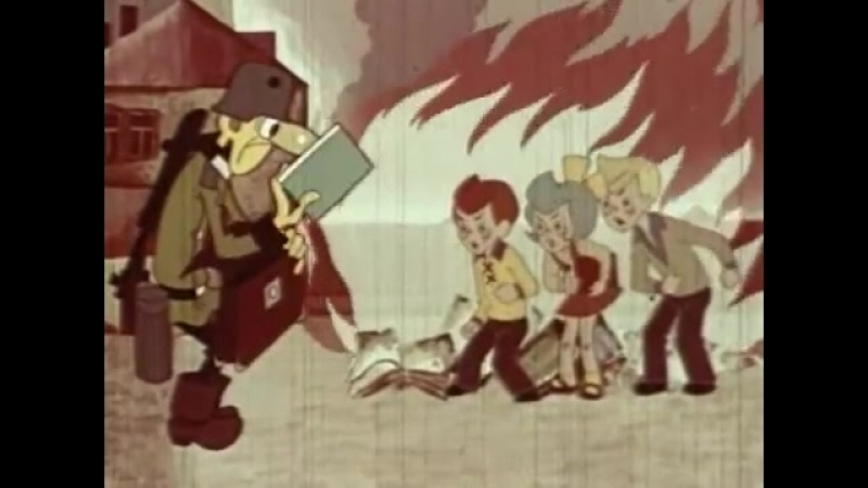 Приключения красных галстуков (Владимир Попов) [1971 г, Мультфильм_Детский_Рисованный]