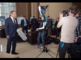 Интервью С.Лаврова для фильма о XIX Всемирном фестивале молодежи и студентов