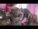 На базе ИГИЛ в Сирии флаг Украины