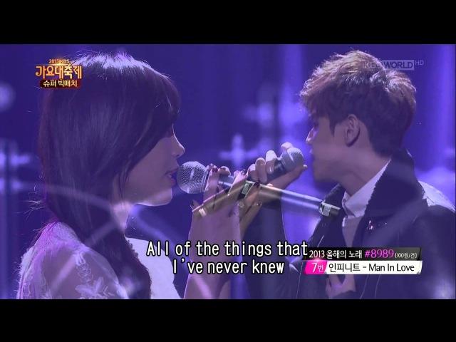 Ji Eun (SECRET) Niel (TEEN TOP) vs Eun Ji (A Pink) Yoseop (BEAST) [LIVE]