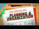 Planning Organization Crash Course Study Skills 4