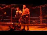 The DEMON Kane RETURNS &amp ATTACK Roman Reigns - RAW OCT. 16. 2017 (HD)