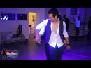 Two men dance Bachata