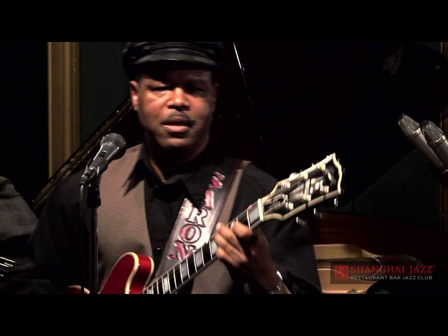 Ghetto Woman by B.B. King - SaRon Crenshaw Quartet @ Shanghai Jazz - Madison, NJ