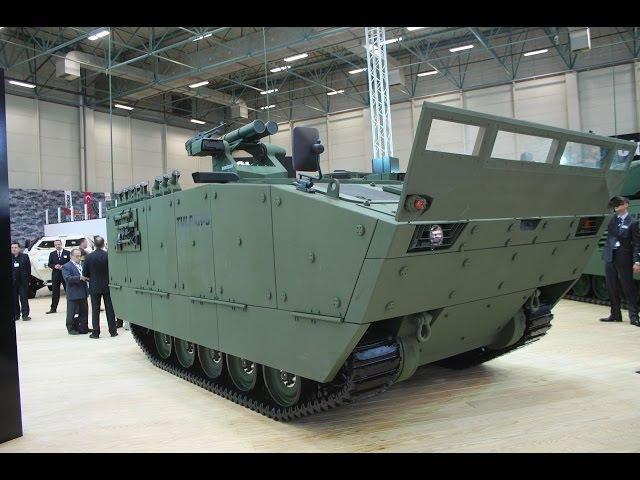 Tulpar-S amphibious tracked armoured vehicle Tulpar AIFV armoured infantry fighting vehicle Otokar