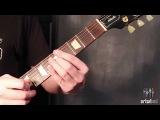 Как играть a слайд на гитаре