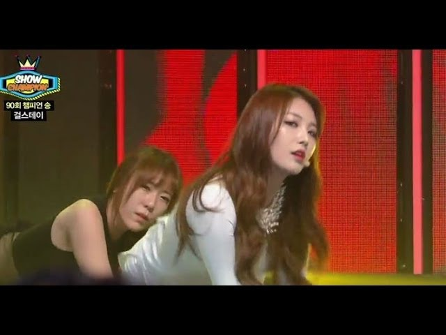 Girl's Day - Something, 걸스데이 - 썸씽, Show Champion 20140319