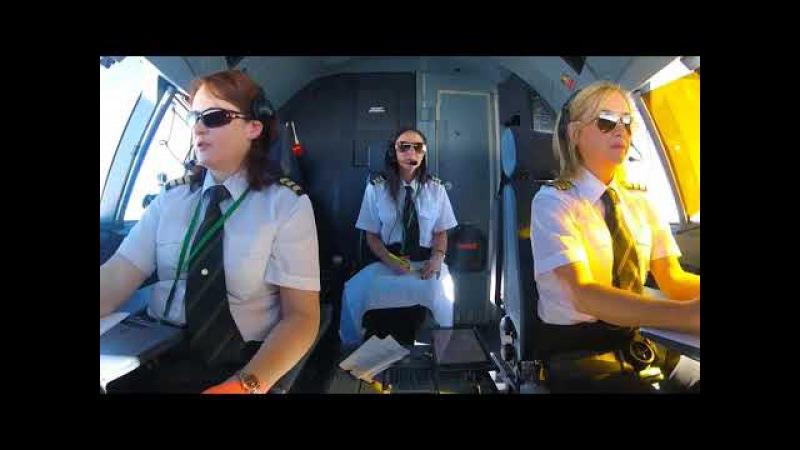 Modern Talking nostalgia - Love Fly forever. Girls fly team Jet airliner magic babe russian remix
