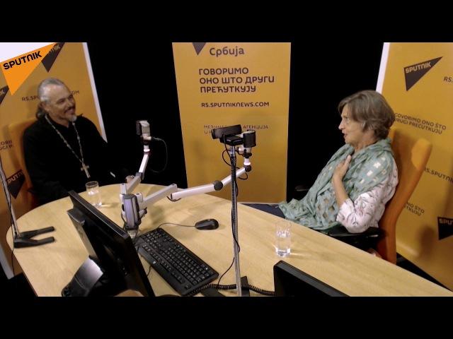 Спутњик интервју - отац Олег Матвејев