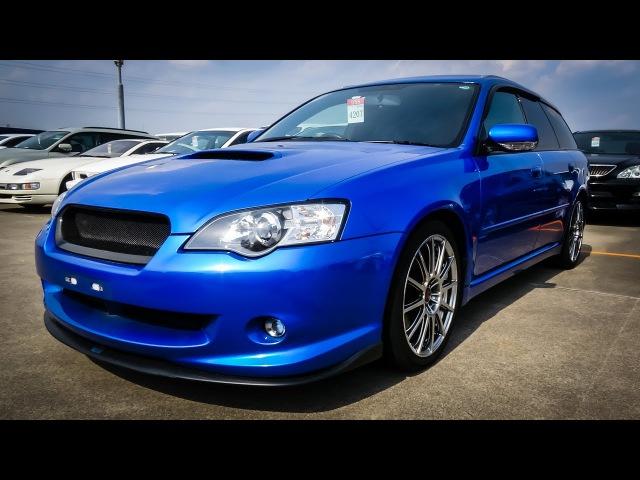 Japan Car Auction   2005 Subaru Legacy Touring GT Spec B STi