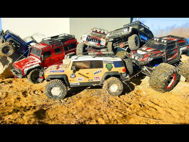 RC Cars Crawling Bashing 4x4 – HPI Venture, Axial, Traxxas TRX4, Tamiya — RC Extreme Pictures