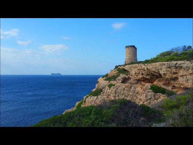 Треккинг Портальс Велс - маяк Кала Фигера / Trekking Portals Vells - faro Cala Figuera