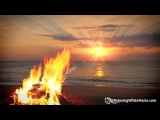 Campfire &amp Ocean Waves White Noise Relax, Focus or Sleep Better 10 Hours