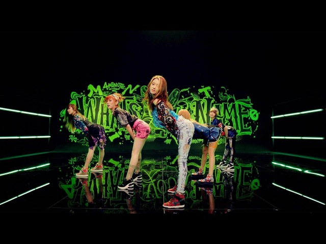 4MINUTE - '이름이 뭐예요? (What's Your Name?)' (Official Music Video)