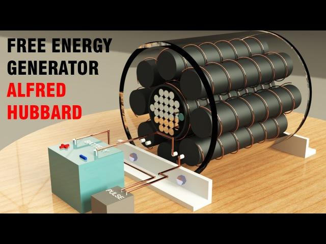 Free Energy Generator, Hubbard Self Powerd Generator, Static generator