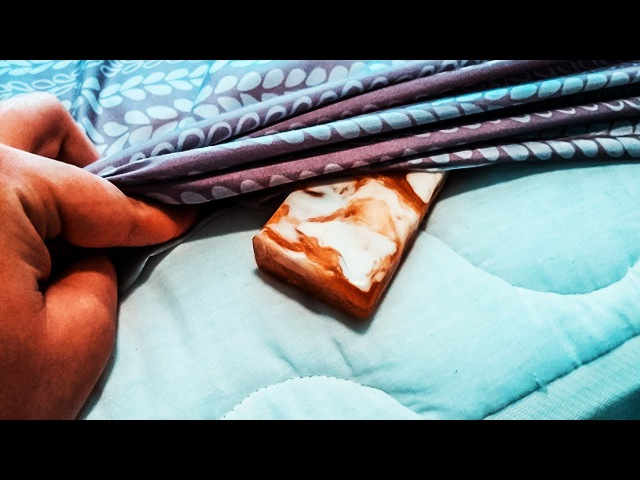 Засуньте кусок мыла под простынь Утром все будет совершенно по другому