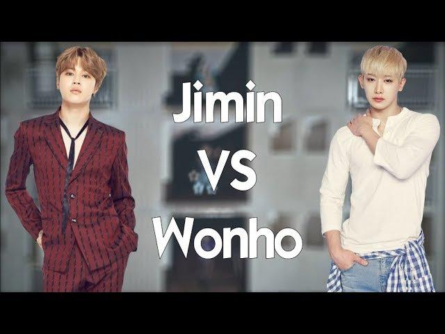 Jimin (BTS) vs Wonho (Monsta X) - BATTLE 2018 🔥