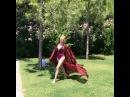 Дарья Пынзарь, хоть и в последний день, но успела «выгулять» свою шелковую тунику