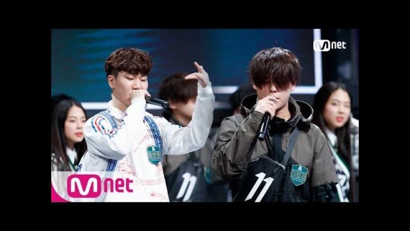 [ENG sub] schoolrapper2 [1회단독] 딕키즈크루 윤병호 vs 키프클랜 이병재 @학년별싸이퍼 180223 EP.1