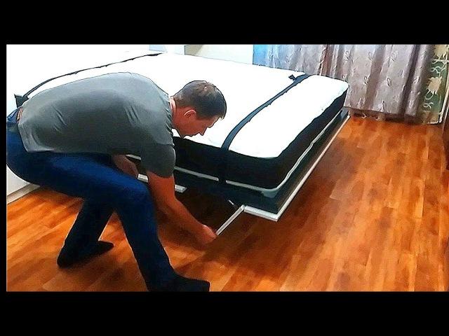 Кровать трансформер,шкаф ,кровать подъемная,встроенная .Смарт 3м2