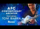 Ibanez AFC Contemporary Archtop featuring Tom Ibarra
