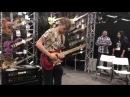 Jakub Zytecki Performs 'Run' Live @ NAMM 2018 | Mayones Guitars Basses Booth