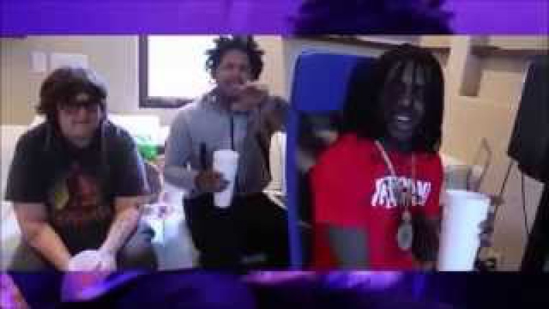 Chief Keef Freestyle With Fredo Santana And Andy Milonakis