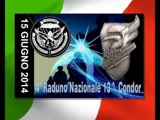 IV Raduno Nazionale XIII Compagnia Paracadutisti CONDOR
