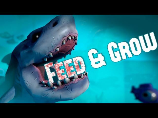 АКУЛА УБИЙЦА! - FEED AND GROW: FISH