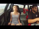 Crazy Girls Reactions in Fast Cars