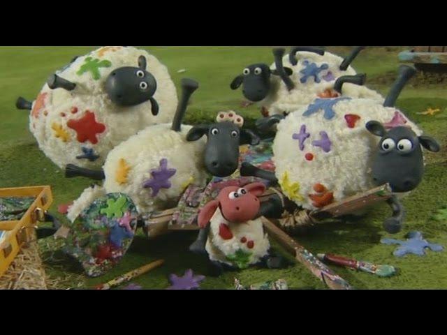 Барашек Шон 1 сезон 2 часть серии подряд Shaun the Sheep 1 season 2 part