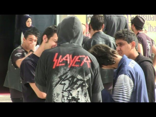 In Algeria, heavy metal bangs up against tradition