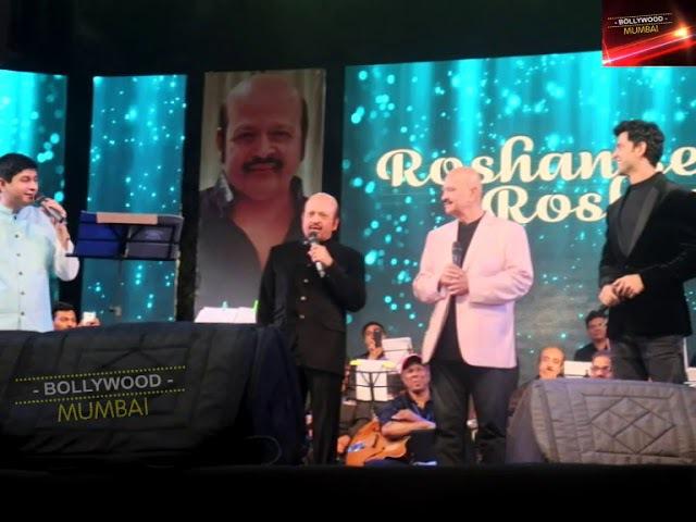 Hrithik Roshan At Grand Entry Roshan Se Roshan tak in Mumbai   Hrithik Roshan   Grand Entry