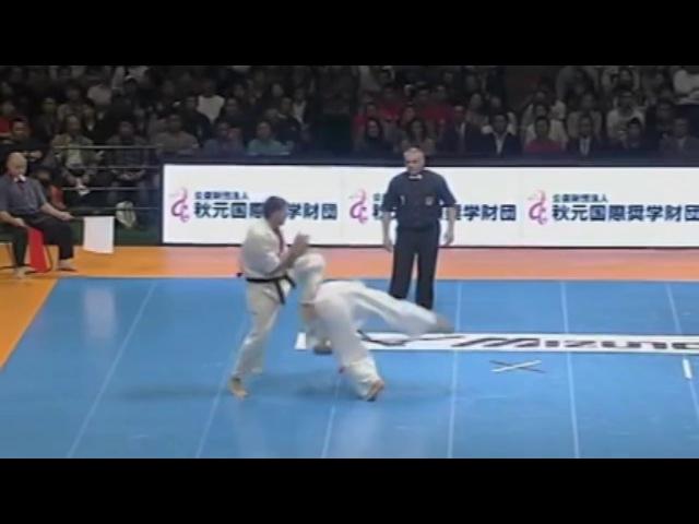 Rolling kick KO Kyokushin