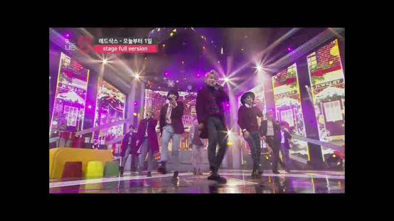 [MIXNINE(믹스나인)] 레드삭스 _ 오늘부터 1일(K.will(케이윌)) (Stage Full Ver.)