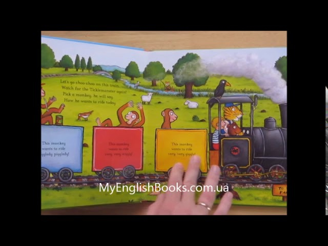 The Tickle Book A lift the flap book