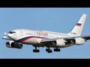 Russian IL 96 Flying Fortress Putin's Plane